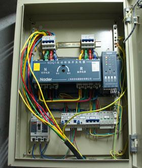 三相四线配电箱带电表,互感器电气接线图