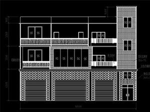 农村三层房屋设计图