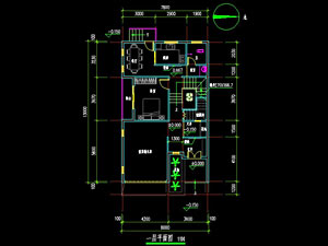 农村三层房屋设计面及效果图   农村自建房屋--三层住宅