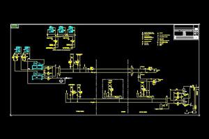公司园区空调原理图