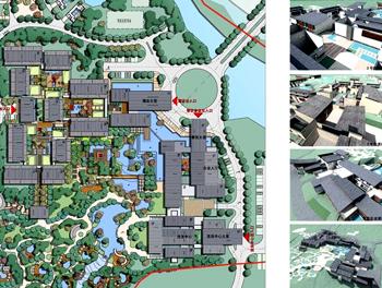 温泉项目设计平面图
