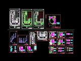 大型商城地热采暖设计全图