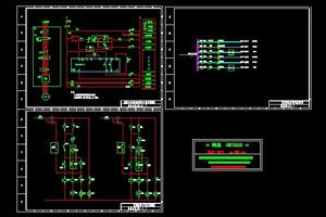 空调机组电气控制原理图