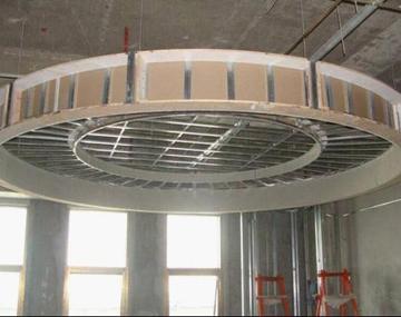 中式别墅装修厨房卫生间的吊顶施工