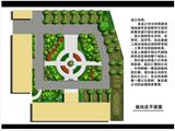 某单位景观水景生态停车场绿化方案实例