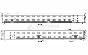 某地多层车间钢结构厂房设计施工图