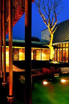 新中式园林景观实景