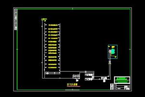 空调水系统原理图