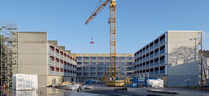 高质量低成本——法国预制公寓