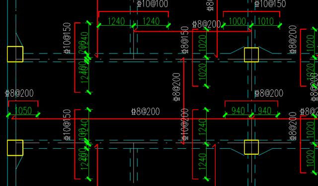 框架干货——让你的结构平面图清爽无比