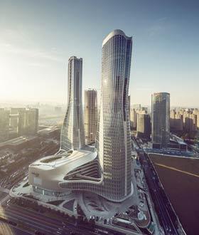 中国杭州来福士中心 / UNStudio