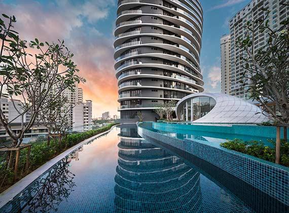 槟城最高双塔 ARTE S 公寓