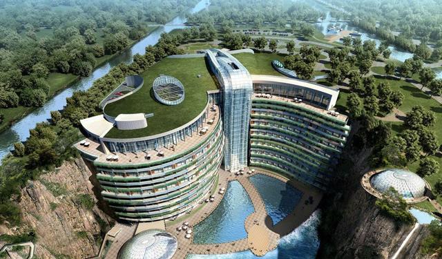世茂深坑酒店建筑、结构、施工最全解析