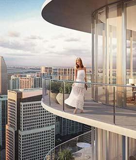 360°环形大阳台奢华海景公寓