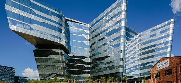 南非萨索尔公司办公楼