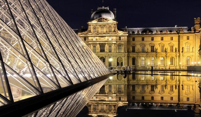 知名工程巡礼:卢浮宫玻璃金字塔