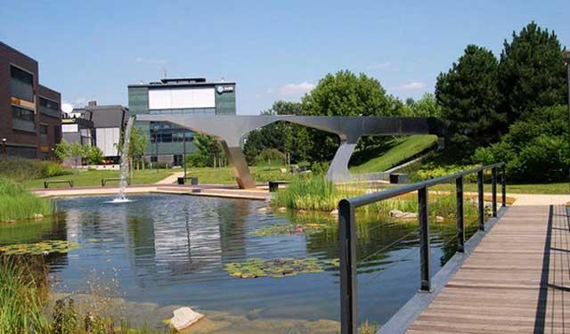 匈牙利:Graphisoft公园景观设计