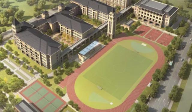 上海首个工业化装配式学校建成!