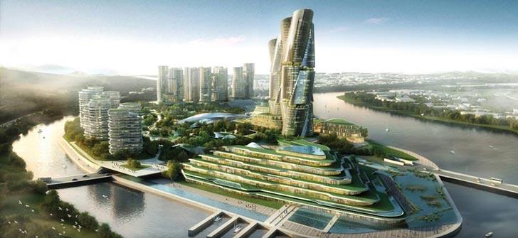 第四代住宅?绿色建筑?看看别人的设计