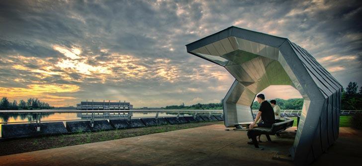 新加坡榜鹅广场景观设计