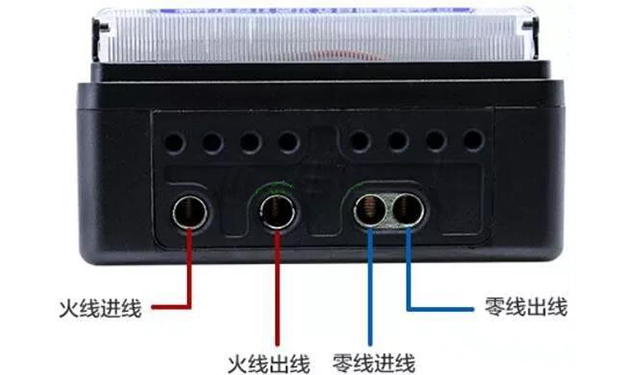 家用电表怎么接线?单相电表接线方法图
