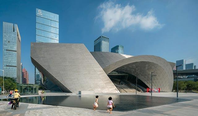 深圳当代艺术博物馆与城市规划展览馆