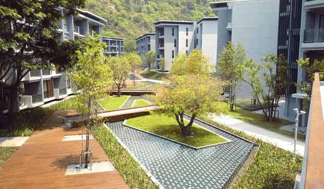 泰国23°庄园混合居住开发项目