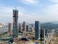 珠海第一高楼顺利封顶
