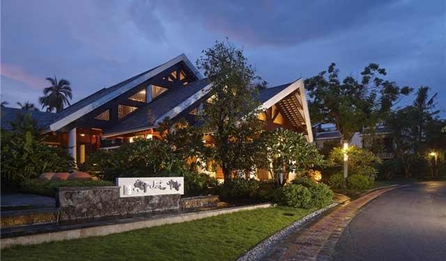 三亚南田温泉度假产权式酒店景观设计