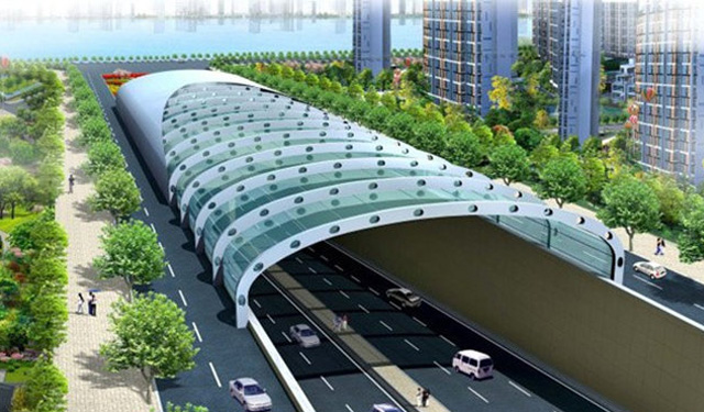 汕头苏埃湾海底长大隧道消防水系统设计