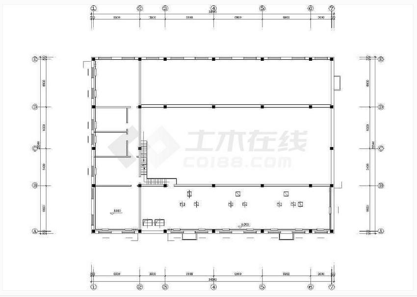 【西安】某地燃煤锅炉房设计施工图纸