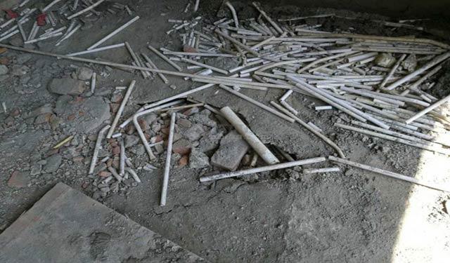 云南怒江滨江郦景房屋还没交付出现质量
