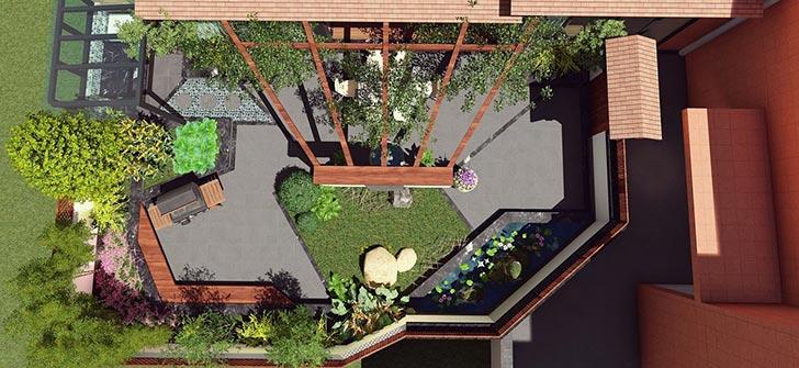 屋顶花园设计规范+实景案例欣赏
