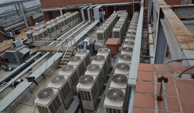 图说多联机空调系统冷媒管的施工安装