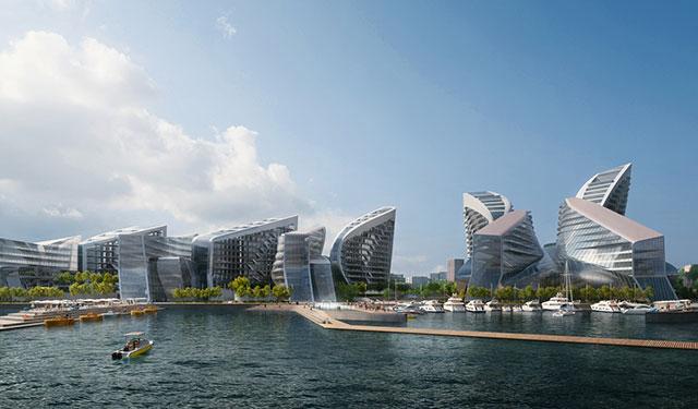 扎哈事务所公布俄罗斯黑海堤岸方案