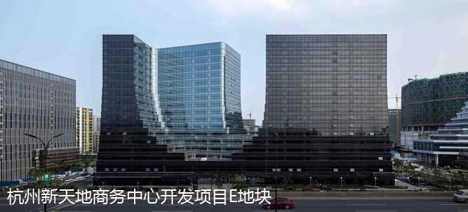 杭州新天地商务中心开发项目E地块