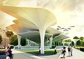 台湾台南站规划设计