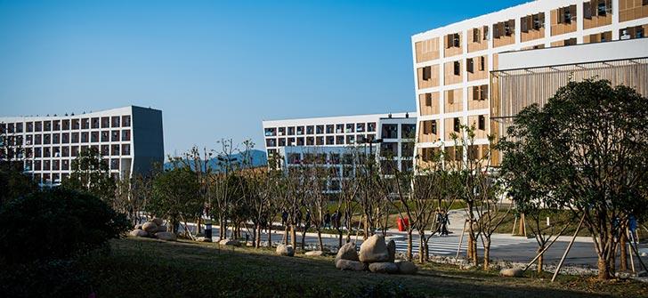 浙江科技学院'艺术范'宿舍楼