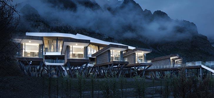 西藏然乌湖国际自驾与房车营地