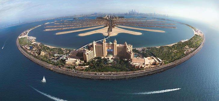 雅布在迪拜设计的酒店和样板房