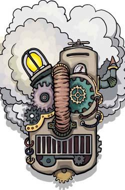 高清机械动态原理图,太酷炫了!
