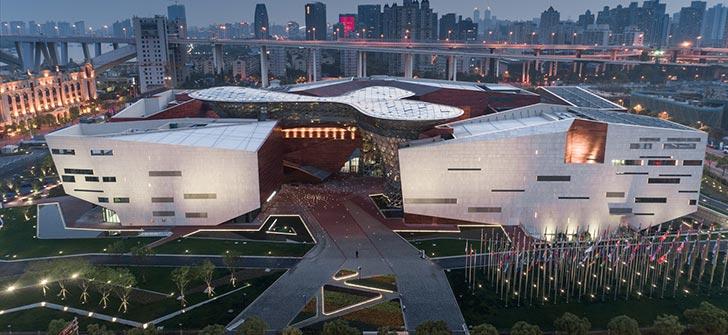 华东院创作所新作:上海世博会博物馆