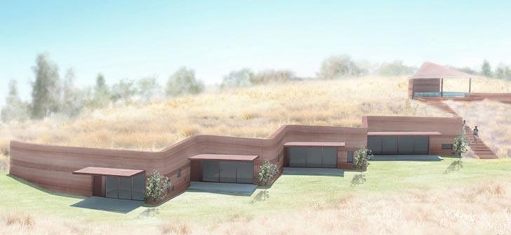 夯土景观的表达形式和设计手法