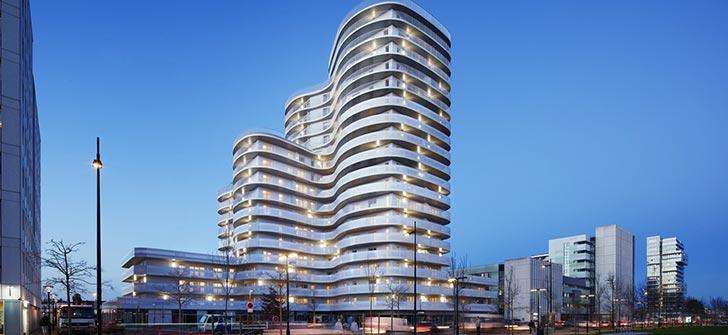 艺术的考量——法国 New'R 公寓