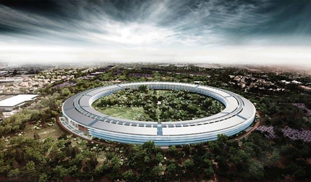 苹果用一个新总部把中国地产商秒杀成渣