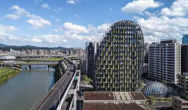 以鹅卵石为灵感的设计——台北砳建筑