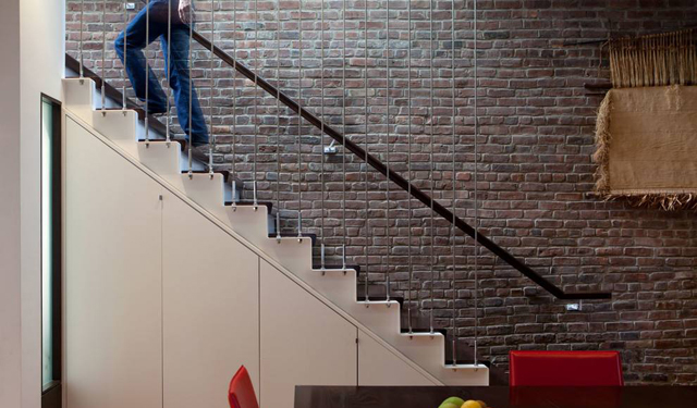 设计心得008-0厚板真的能代替楼梯吗?