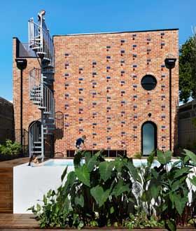 澳大利亚 Brickface House 设计
