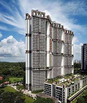 """新加坡装配式住宅""""天空之城"""""""