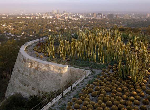 洛杉矶保罗盖蒂艺术中心景观设计